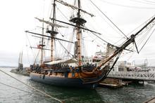Old Vintage Sail Ship