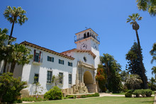 Court House In Santa Barbara C...