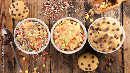 assorted raw dough cookie Canvas Print