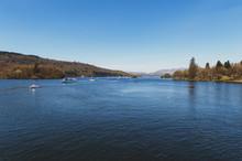 Beautiful Blue Water Of Lake W...