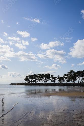 Foto op Canvas Kust 高砂の海岸