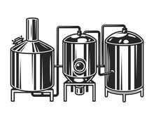 Vintage Brewing Machine Concept