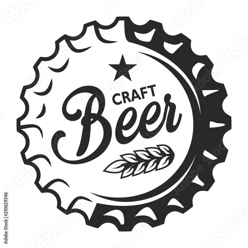 Vintage Craft Beer Logo