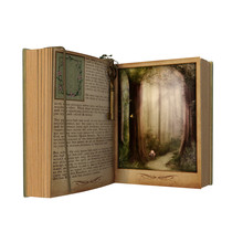 Magical Open Story Book Isolat...