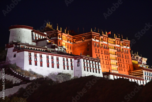 Fotografia Tibet, Lhasa, China, June, 02, 2018