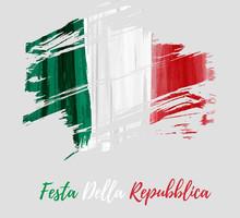 Festa Della Repubblica -  Italian Republic Day.