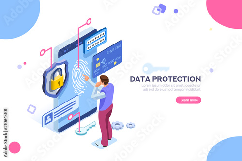 Photo  Data protection concept
