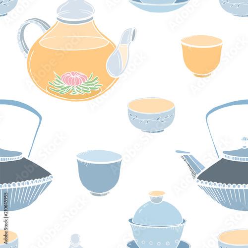 elegancki-wzor-z-tradycyjnych-azjatyckich-ceremonii-parzenia-herbaty-recznie-rysowane