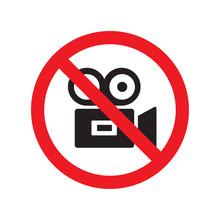 Sign No Video Recording Prohib...