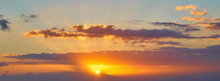 Sunset Orange Sky Replacement