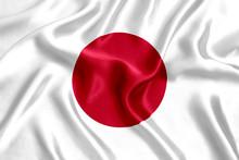 Flag Of Japan Silk