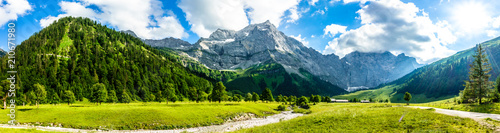 Stickers pour portes Alpes karwendel mountains
