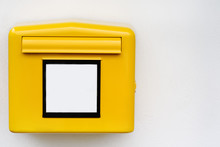 Close-up Photo Of Yellow Mail ...