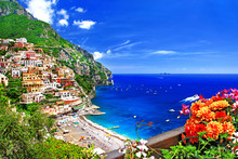 Beautiful Positano. Gorgeous Amalfi Coast, Italy