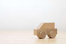 Small Wooden Toy Car