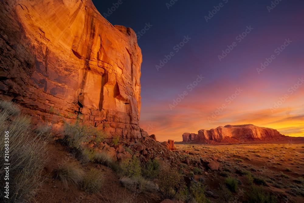 Spectacular Sunrise in Monument Valley