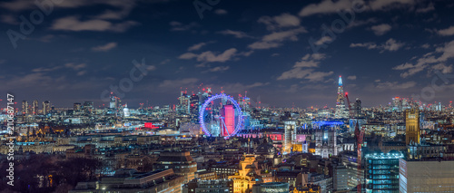 London Skyline by Night