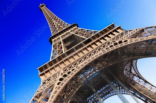 Foto op Aluminium Eiffeltoren Eiffel Tower