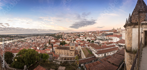 Foto op Canvas India Panoramic view of Coimbra Portugal