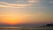 canvas print picture - Abendstimmung Helgoland