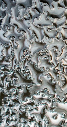 Staande foto Paardebloemen en water Background covered withl water drops in close-up