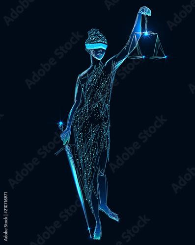 Fotografija  Law and Justice concept