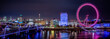 Leinwanddruck Bild - A Thames Vista