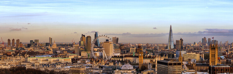 Fototapeta Panorama London Skyline Day
