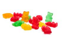 Jelly Bears Isolated