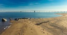 Chesapeake Bay Bridge On Cool ...