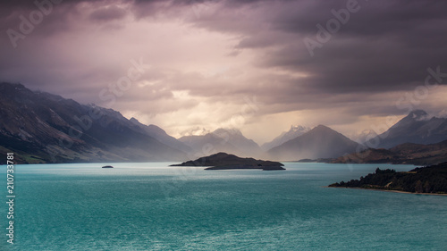 Photo  Sturm über Glenorchy, Central Otago - Südinsel von Neuseeland