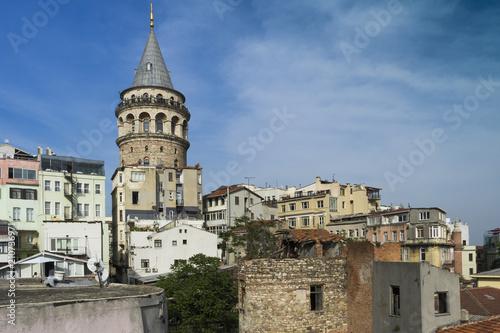 Plakat Wieża Galata