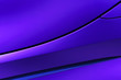 canvas print picture - Bodywork of violet sedan, surface of sport car door and fender in ultramodern style, abstract detail of concept racing vehicle