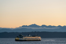 Washington State Ferry Outside...
