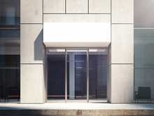 Business Center Entrance Exter...