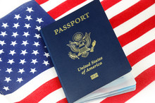 Passport Of USA On The Nationa...