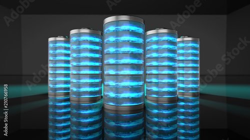 Fotografía  lithium battery fast recharge to power electric devices like cars and phones - 3