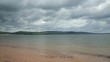 beach and coastline of moray firth, fortrose, scotland