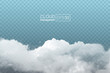 transparent realistic cloud