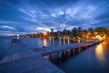 Boardwalk In Placencia, Belize...