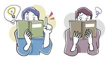 本を読む-理解力