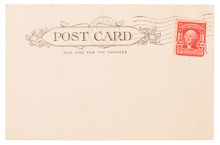 Antique Post Card From USA Cir...