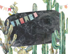 Watercolor Cactus Party Card I...