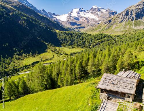 Bormio - Val Viola Bormina e Val Cantone di Dosdè (IT) - Vista aerea  #210808126