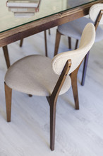 Close Up Of Vintage Chairs In ...