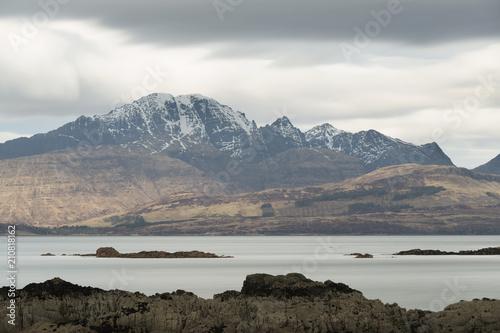 Fototapety, obrazy: loch eishort Isle of Skye