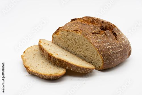 Spoed Foto op Canvas Brood fresh crispy bread