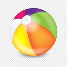 Beach Ball Transparent Backgro...