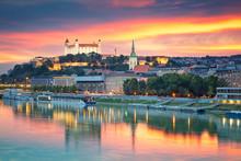 Bratislava. Cityscape Image Of...