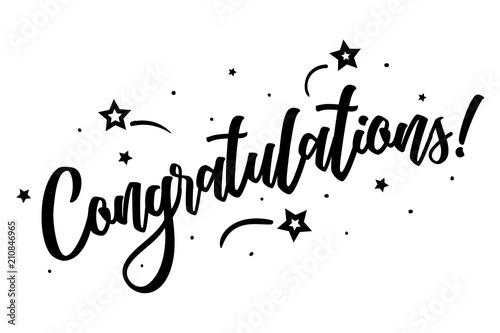 Congratulations Canvas-taulu